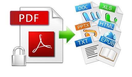 convertir pdf a word, excel y otros formatos con Renee PDF Aide
