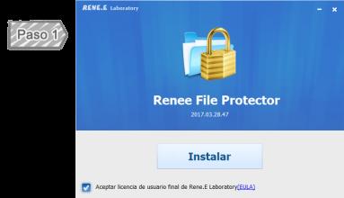 Instalar Renee File Protector