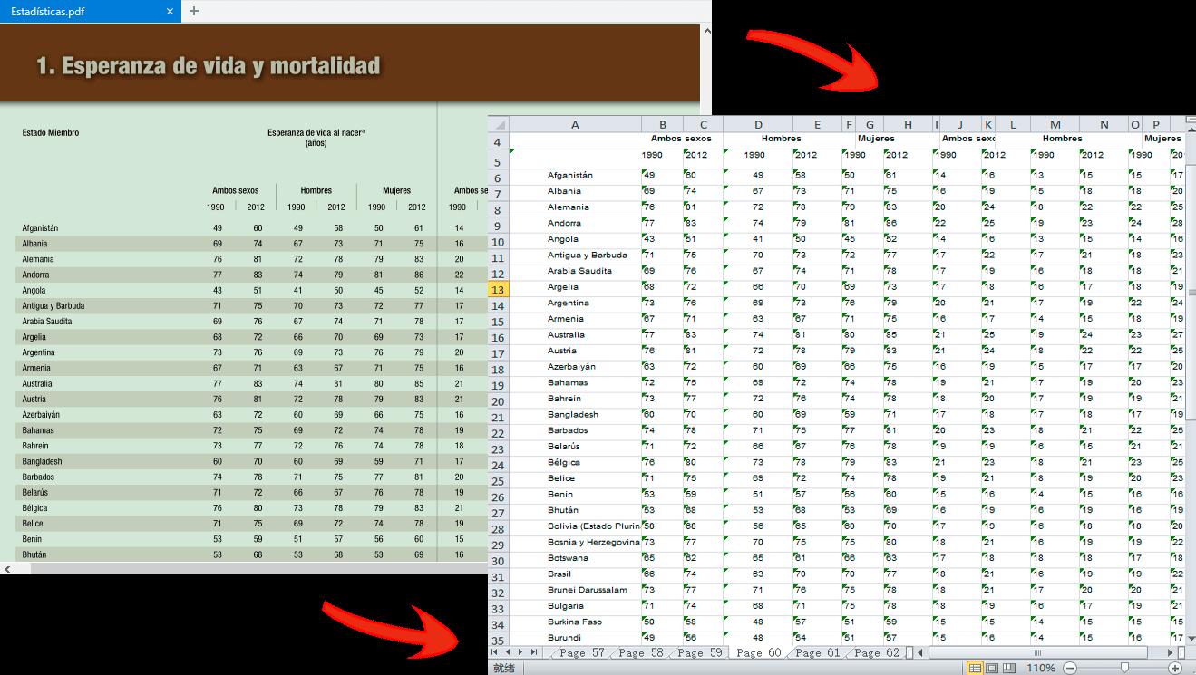 revisar los archivos Excel generados en la carpeta seleccionada