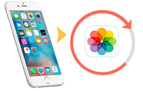 Tres maneras para recuperar fotos de iPhone