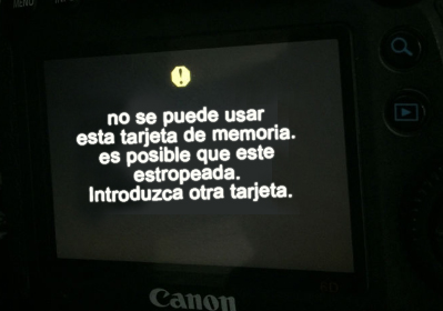 la cámara digital Canon