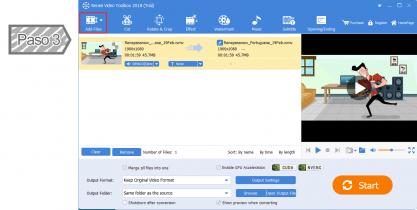Añadir vídeos o audios