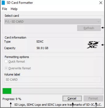 SD Memory Card Formatter2
