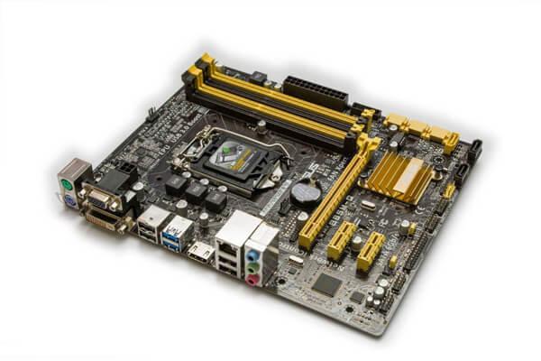 conexión de hardware