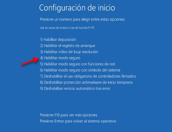 Cómo eliminar una carpeta que no se deja eliminar en windows 10 en modo seguro