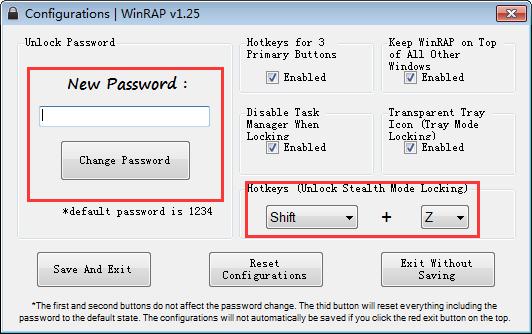 Ocultar la ventana Process Monitor con WinRAP