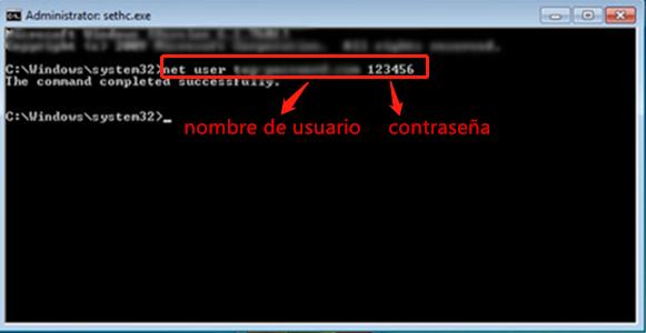 Crear usuario local en Windows 10 con el símbolo del sistema