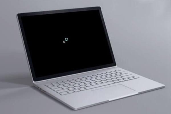 pantalla negra de windows