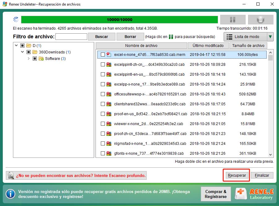 Recuperar datos perdidos de la tarjeta SD en Mac