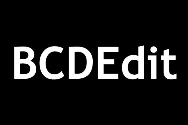 Qué es BCDEdit