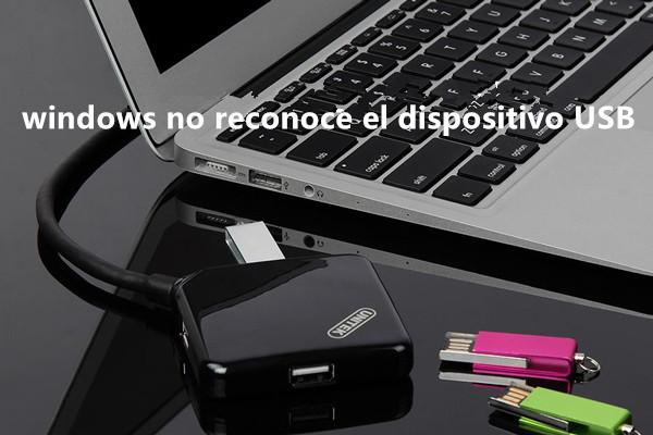 Windows no reconoce el dispositivo USB