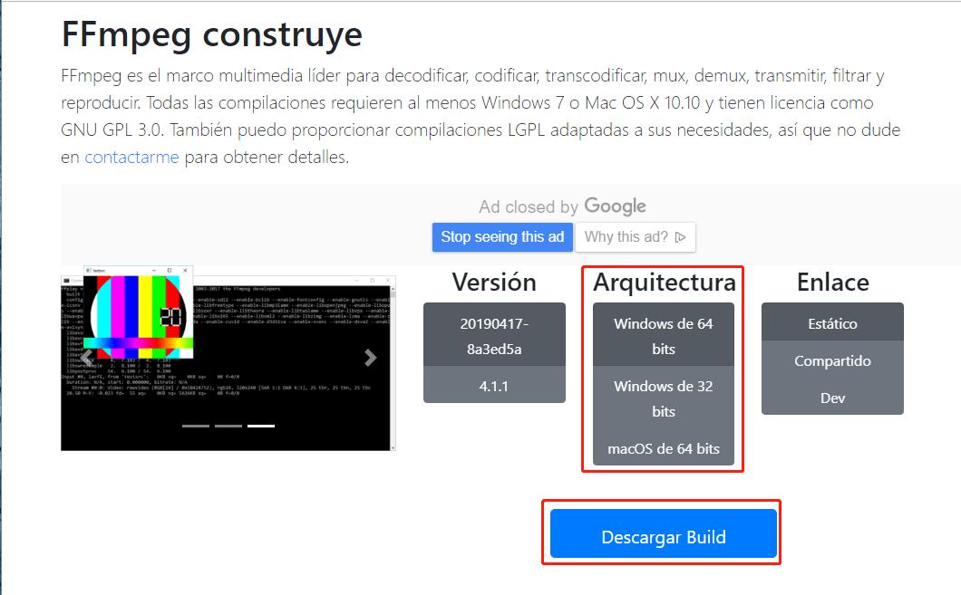 Convertir formatos de video con FFmpeg