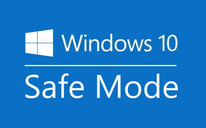 el modo seguro de Windows10 no se puede iniciar