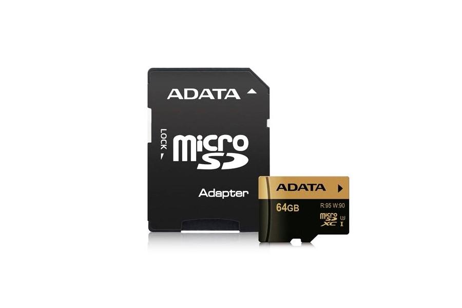 ADATA 64GB UHS-Ⅲ micro SDXC