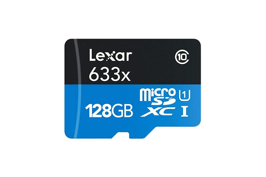 Lexar 128GB 633x Micro SDXC UHS-I