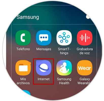 internet de Samsung