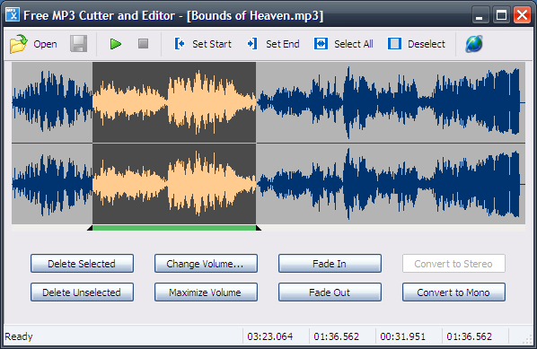 Free MP3 Cutter and Editor: Programa gratuito para editar MP3 en Windows