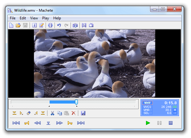 Machete Video Editor Lite: programa para cortar videos