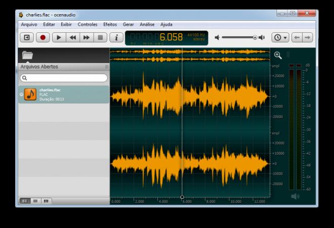 Ocenaudio: Programa gratuito para editar MP3 en Windows