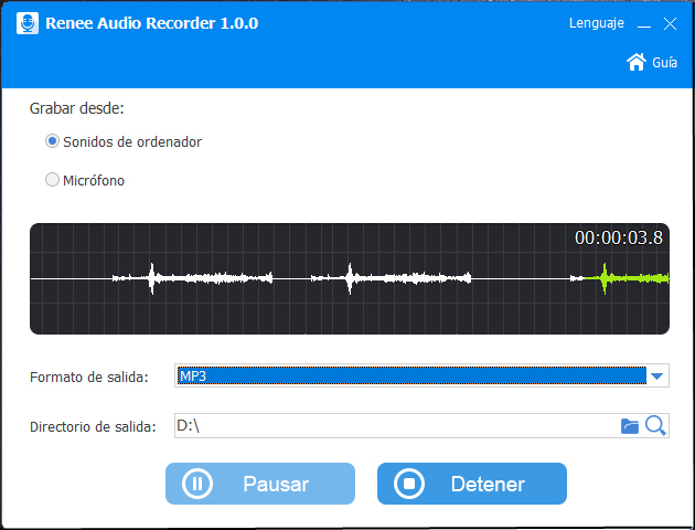 convertir youtube a mp3 con renee audio tools