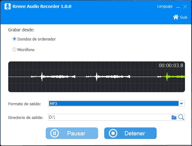 convertir youtube a mp3 con renee audio tools