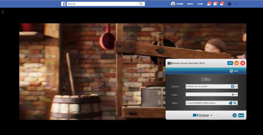 cómo grabar video con video editor pro