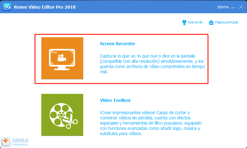 descargar anime con renee video editor pro