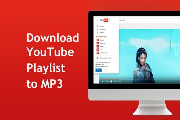 descargar la lista de reproducción de YouTube en MP3