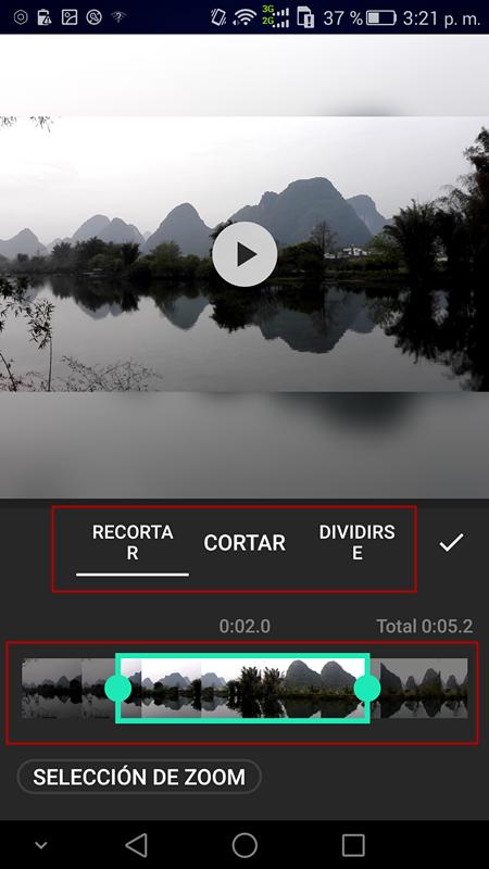 editor de videos para android-InShot Video Editor