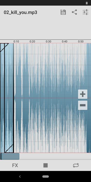 tono de llamada con Ringtone Slicer FX
