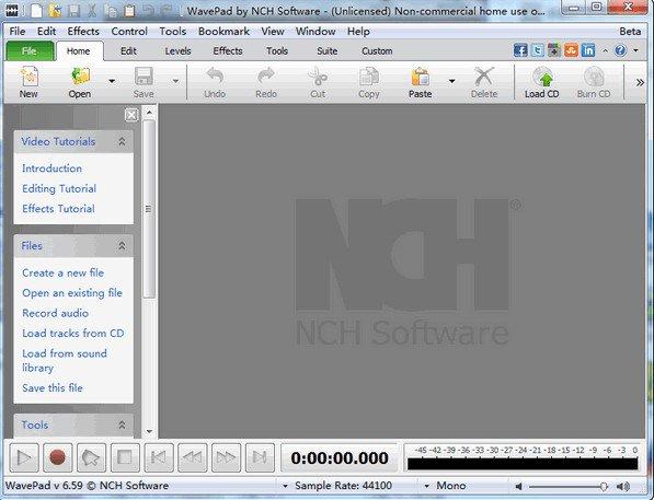 Programa de edición de audio - WavePad