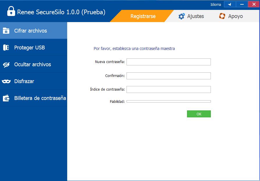 cifrar archivos con renee securesilo