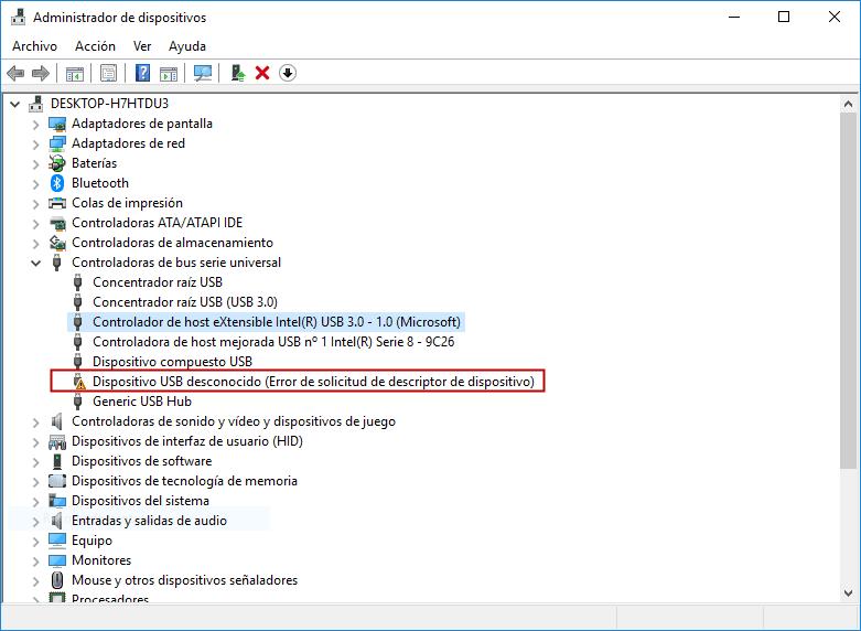 resolver el error:este dispositivo no puede iniciar. (código 10)