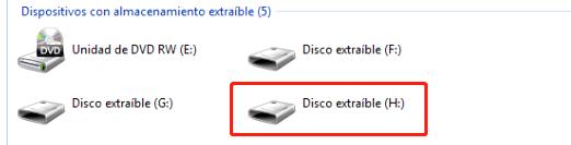 Los archivos en el disco duro móvil están dañados e inaccesibles