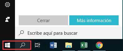 la barra de tareas, el menu inicio y la cortana no funcionan en Windows 10