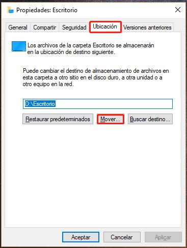 Transferir archivos del disco C en escritorio a un disco con memoria grande