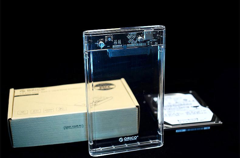 la caja de discos duros
