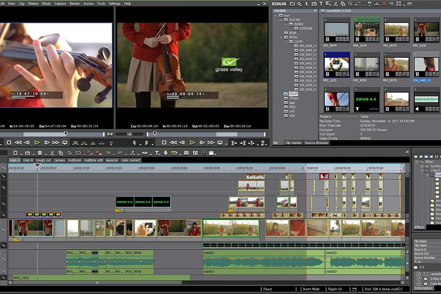 cortador de videos-EDIUS