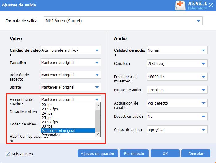 comprimir videos con renee video editor pro