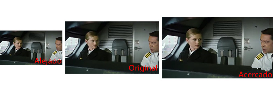 la comparación de zoom video