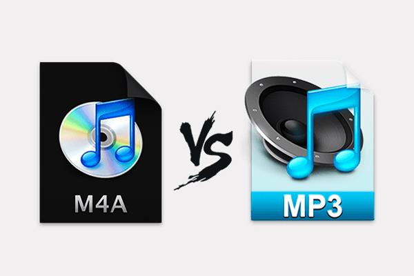 comparación entre m4a y mp3