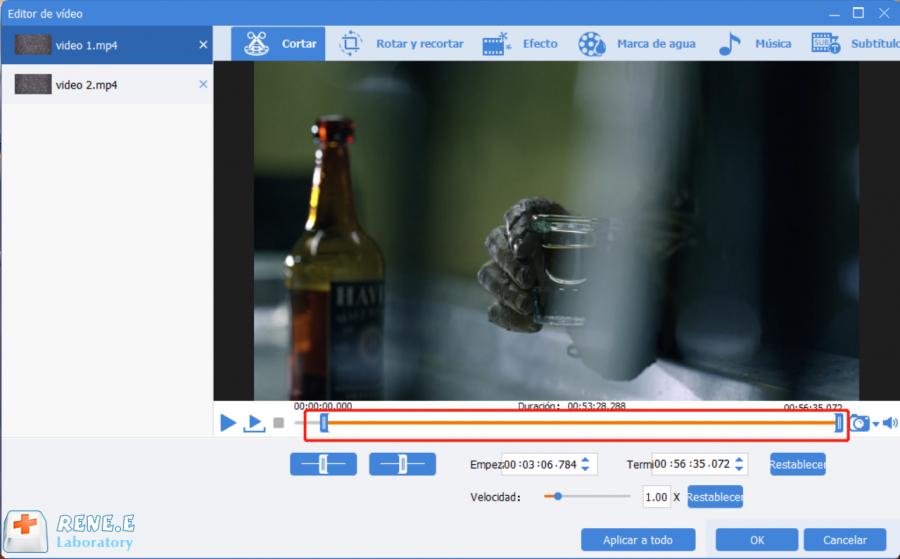 varios videos en una pantalla