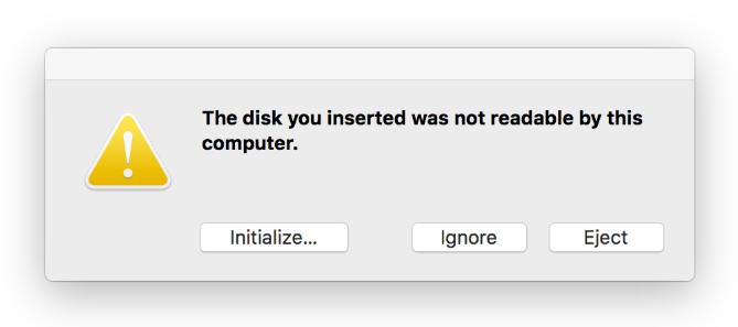 mac no reconoce disco duro externo