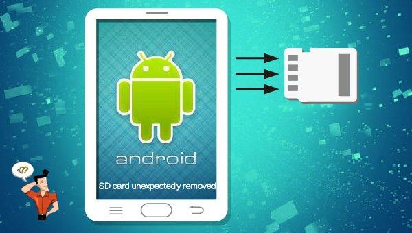 tarjeta sd se desconecta sola android