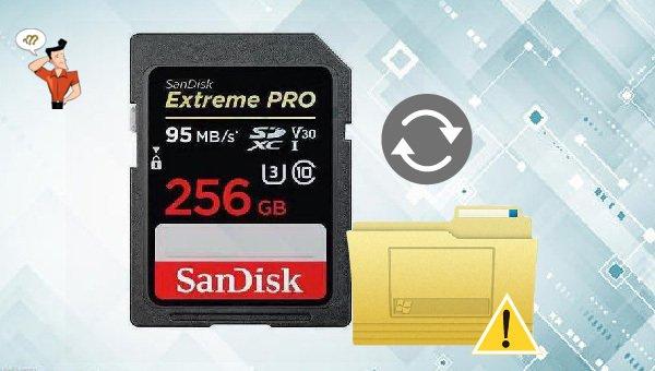 tarjeta SD vacía o con sistema de archivos no compatible